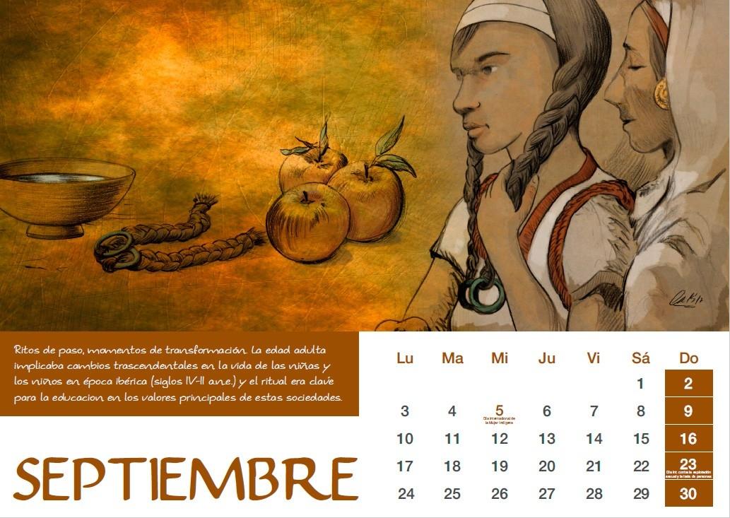 Calendario Ujaen.Calendario 2018 Mujeres De La Prehistoria Novedades Pastwomen Net