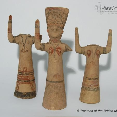 Phoenician female figurines