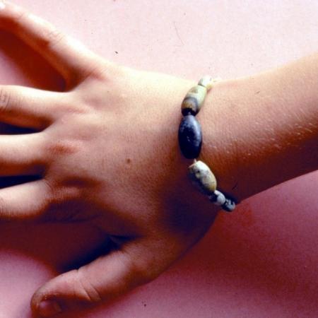 Variscite bracelet