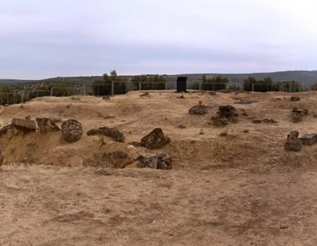 Túmulo funerario Orientalizante de Cerrillo Blanco