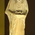 Terracotta figurine of a woman