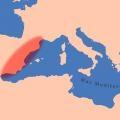 Mapa de localización de la zona de estudio. Sociedad Ibera.