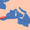 Área de influencia fenicio-púnica en la Península Ibérica e Islas Baleares