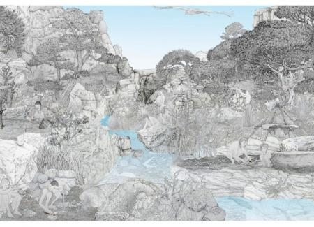 Paleolítico Superior - Este de la Península Ibérica. Ilustraciones: Andrés Marín