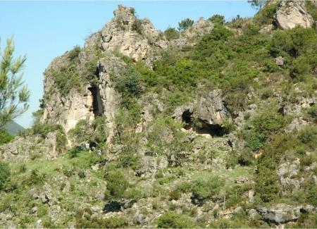 Cova del Parpalló (Gandía, Valencia), yacimiento paleolítico con ocupación humana documentada entre 29.000 y 11.000 años AP © Museu de Prehistòria de València