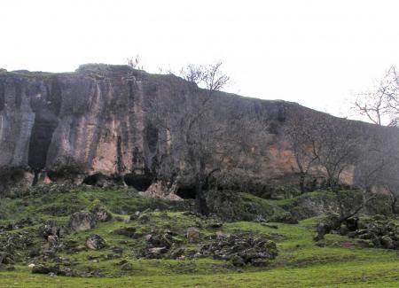 Vista general del santuario ibérico de Castellar