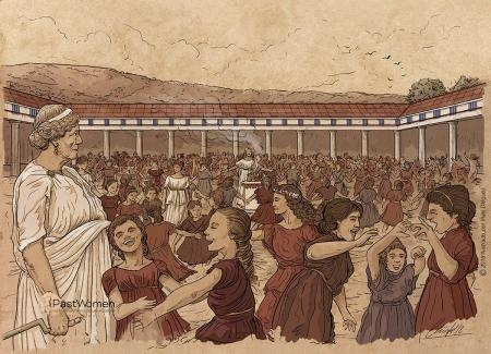 Arkteia - Festival de la osa en Braurón. Ilustrado por Iñaki Diéguez